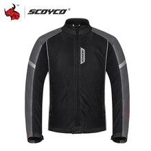 BENKIA מעיל אופנוע קיץ לנשימה רשת Moto מעיל ציוד מגן גברים מעיל אופנוע שריון