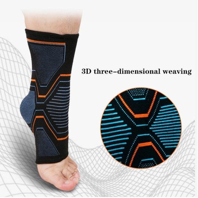 Supporto Elastico Traspirante per la Compressione Della Caviglia 4