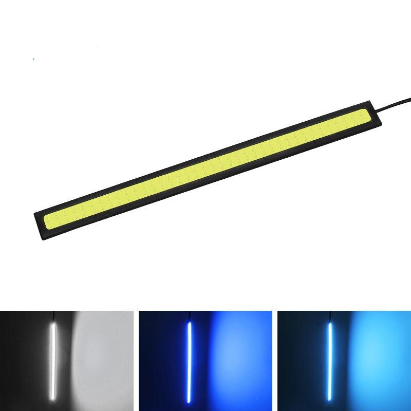 1 Pcs 14cm Universal Daytime Running Light COB DRL LED Car Lamp External Lights Auto Waterproof Car Styling Led DRL Lamp