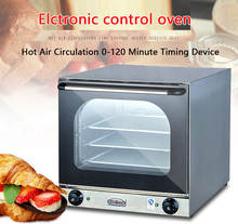 EB-4B Electric Oven Full Perspective Hot Air Circulation Electric Oven Spray Type Commercial Multi-function Oven Baked PizzaTart 220v large capacity oven 4500w commercial electric oven cake bread large pantry oven hot air circulation oven