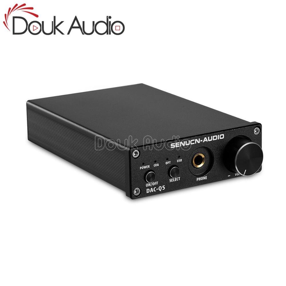 Convertisseur Audio Mini DAC Douk 192KHz optique/Coaxial/USB adaptateur numérique-analogique ampli casque HiFi