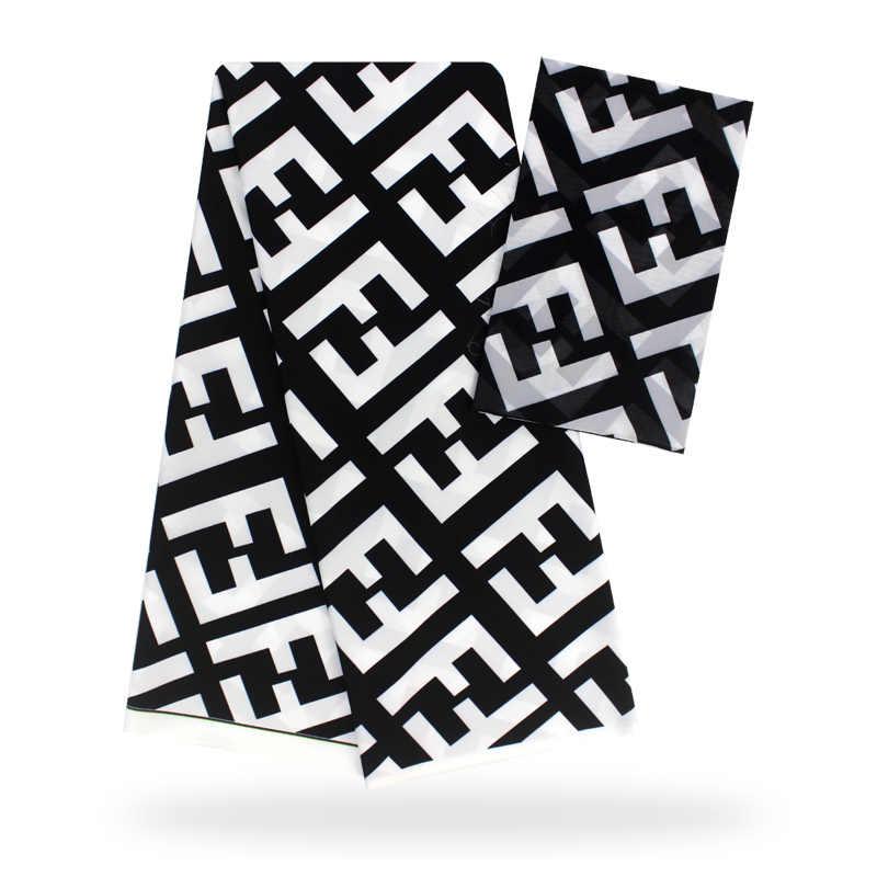 Модальные эластичные атласная шёлковая ткань Африканская мягкая восковая ткань с принтом 2 ярда шифон 4 ярда audel modell ИМИТИРОВАННАЯ ткань Анкара 081607
