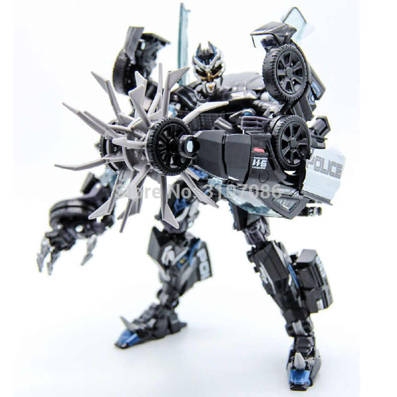 NEW Transformers LS-02 Masterpiece Movie MPM-05 Barricade Police for KO in stock