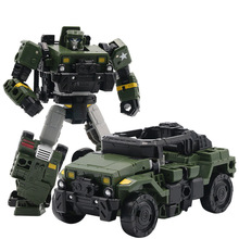 Transformation Toy 6002-9 Metal Part Car Robot Boy Best Birthday Christmas Gifts Action Figure