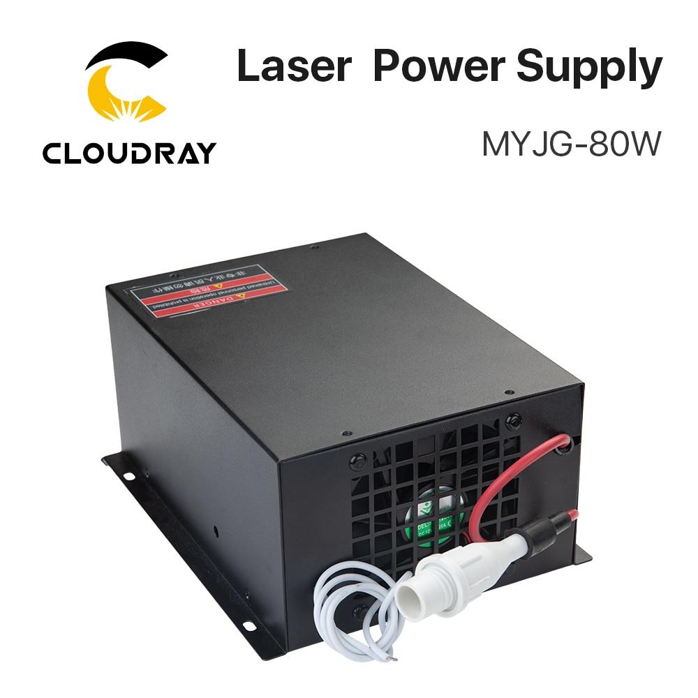 Fuente de alimentación de láser de CO2 Cloudray 80W para la - Piezas para maquinas de carpinteria - foto 3