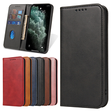 Luxury Flip Case for IPhone 12 11 Pro Vintage Magnetic Card Stand Wallet for iPhone 12 Mini XS Max XR 6 7 8 Plus SE 2020 Cover