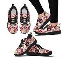 Elviswords/Модная обувь на плоской подошве с принтом для девочек