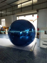 PVC party decoration giant hanging inflatable mirror ball
