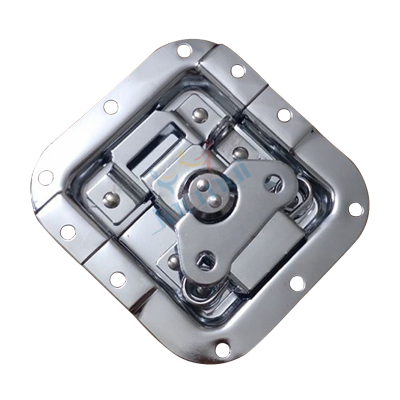 Flight Case Accessories Aluminum Case Toolbox Lock New Flat Lock Core Frameless Butterfly Lock Lap  Lock Padlock|Stage Lighting Effect| |  - title=