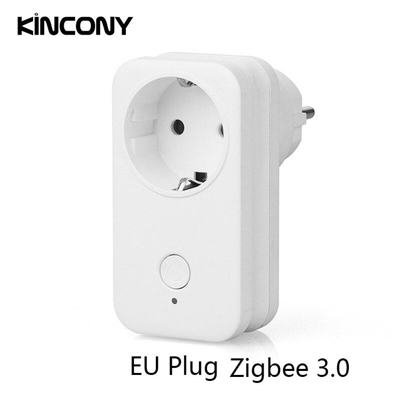 Zigbee 3.0 Switch Wireless Socket SamrtThings APP Remote Control EU AU US UK Outlet For Philips Hue Amazon Echo Plus Alexa