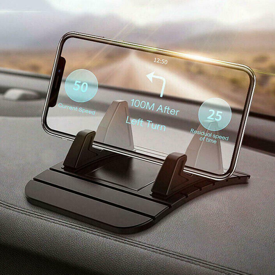 Suporte de silicone do carro anti-deslizamento esteira almofada dashboard suporte de montagem para o telefone gps suporte para iphone samsung xiaomi iphone12 universal