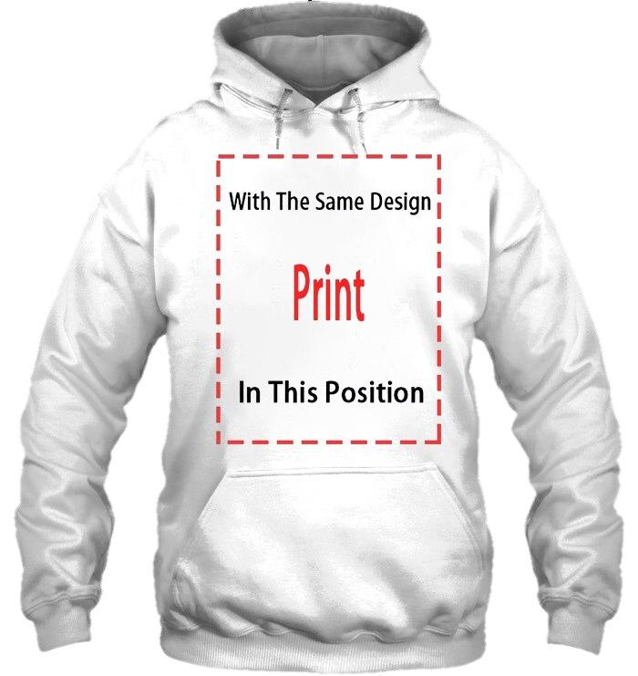 Мужская толстовка с капюшоном teeshirt General Images Ltd PiL, Мужская черная, 2 стороны, все размеры, женская уличная одежда - Цвет: Men-White