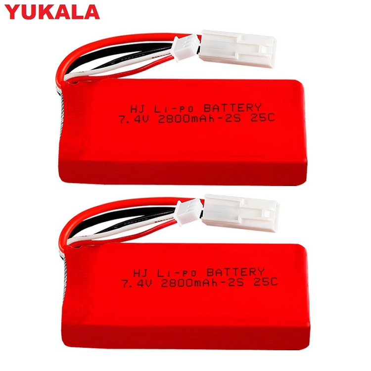 YUKALA FT009 955 948 2.4G RC Racing boat <font><b>7.4V</b></font> 1500MAH/<font><b>2800Mah</b></font> Li-polymer <font><b>battery</b></font> 7.4 v 2800 mah image