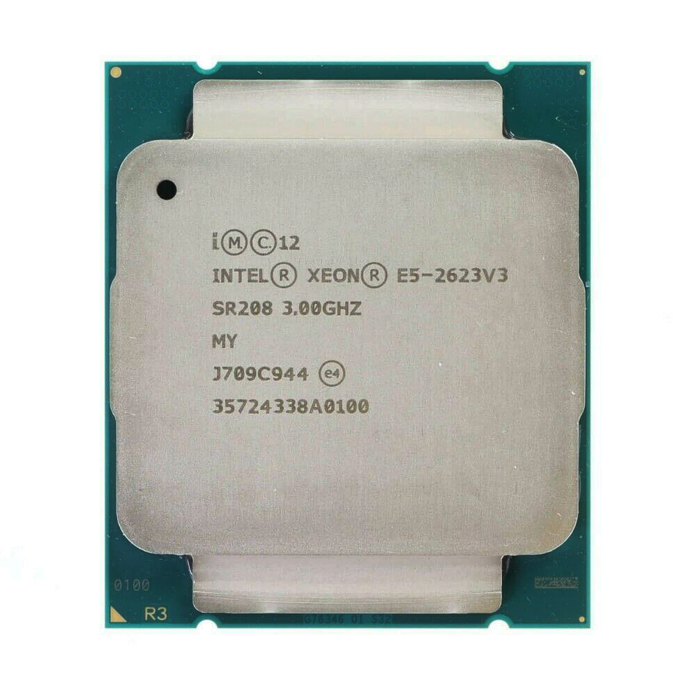 Процессор Intel Xeon E5 2623 V3 E5 2623V3, 3,0 ГГц, 4 ядра, 10 МБ, LGA 2011-3, 105 Вт