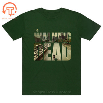 The Walking Dead Movie tshirt Paparazzi T-Shirt Rick Grimes Carl Daryl Michonne zombies Man cotton fashion summer brand T shirts image
