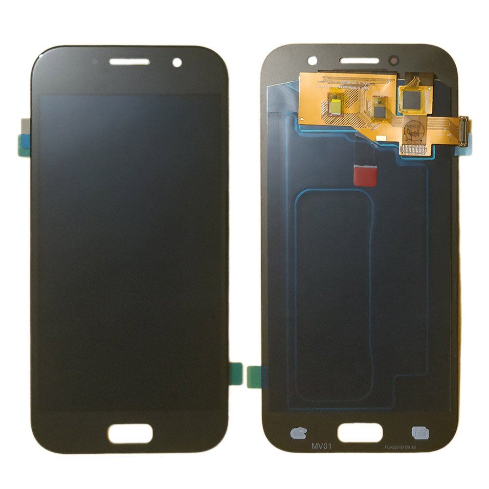 A520 <font><b>amoled</b></font> LCD for <font><b>Samsung</b></font> Galaxy A5 2017 <font><b>A520F</b></font> A520K A520S LCD Display Touch Screen Digitizer Assembly A5200 TFT LCD Glass image