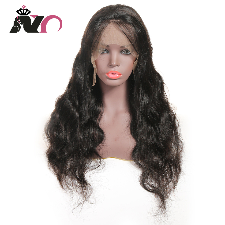 NY Hair 13*4 Lace Front 100% Human Hair Wigs Malaysia Body Pre Plucked Baby Hair 8- 28 Inch Non Remy Hair Lace Frontal Wigs