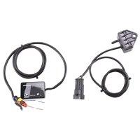 Display digital de IP-TBM-01 turbocompressor azul Light-14-40PSI para automóvel reequipado turbocompressor medidor de temperatura