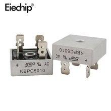 2 قطعة KBPC5010 مقوم الجسر الثنائي ديود 50A 1000V KBPC 5010 صمام ثنائي مقوم للطاقة إلكترونيكا componentes