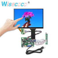 10,1 pulgadas 1280*800 IPS Touch LCD Kit Win7 8 10 Raspberry Pi Android Linux equipos industriales 450nits