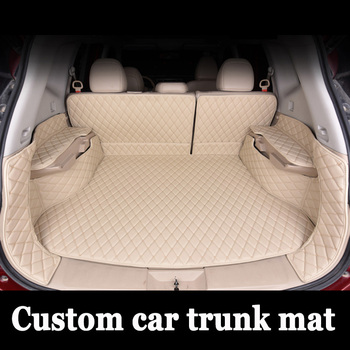 Special made car trunk mats for Kia Sportage Optima K5 Sorento Carens 6D full cover case car-styling high quality carpet liners