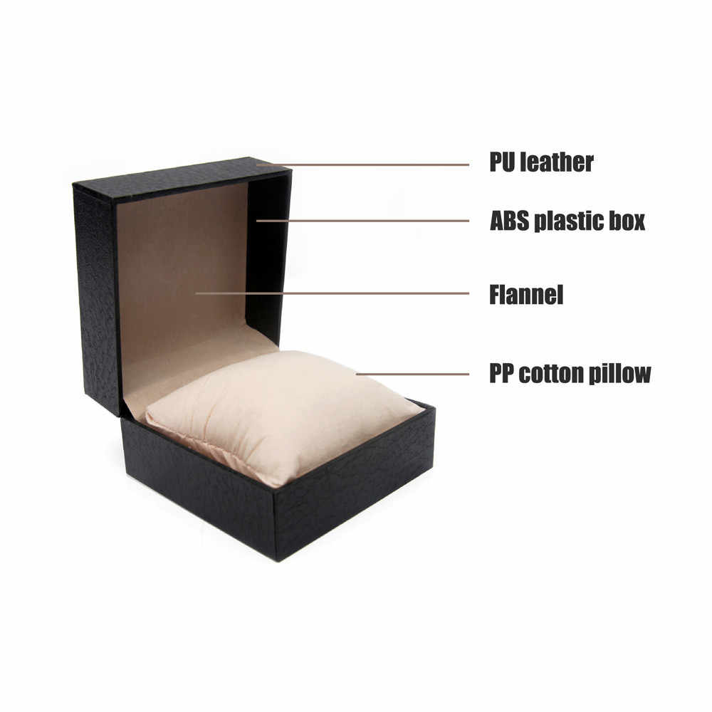 OTOKY Watch Box Jewelry Wrist Watch Durable Hard Case Square Gift Box For Bracelet Bangle Boxes Gift Box Storage Box 19Sep29
