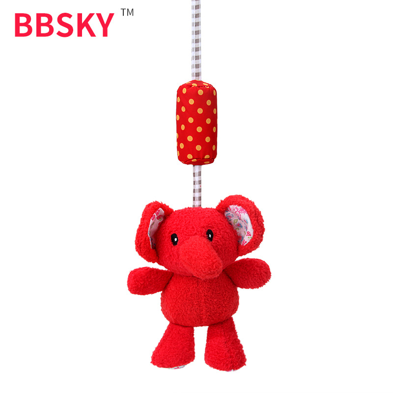 Lovely Usage Small Elephant Wind Chime Rattle Hanging Decoration Toys For Children And Infants Maternal And Child Supplies