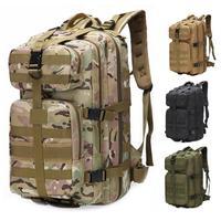 35L gran capacidad Unisex al aire libre militar ejército táctico mochila Trekking deporte viaje mochilas Camping senderismo pesca bolsas ED