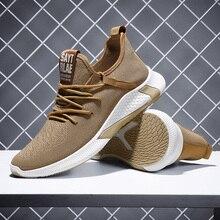 Men Casual Shoes Breathable Sneakers Tenis Masculino Flyknit Lightweight Walking Man Footwear Zapatillas Hombre