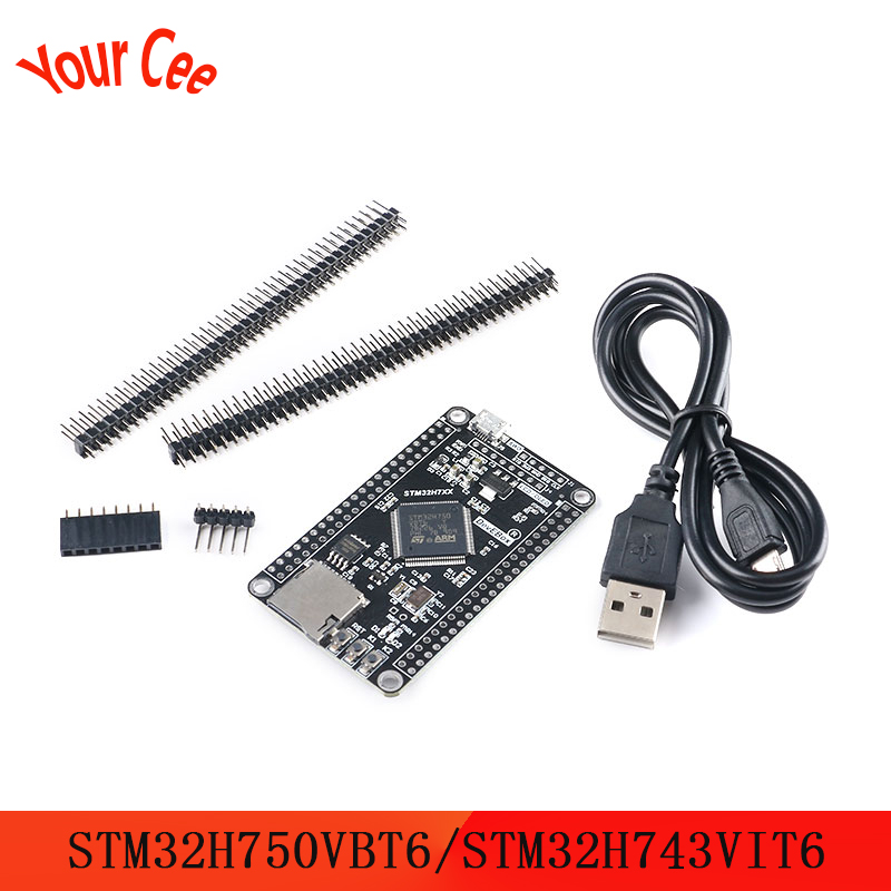STM32H750VBT6 STM32H743VIT6 STM32 System Board STM32H7 Development Board Core Board For OV2640 OV5640 Series Camera Module