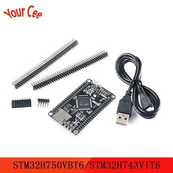 STM32H750VBT6 STM32H743VIT6 STM32 System Board STM32H7 Development Board Core Board for OV2640 OV5640 Series Camera Module недорого