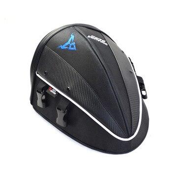 Nuevo bolso multifuncional de la cola de la motocicleta bolso del asiento trasero del deporte de la motocicleta MX ATV BMX Motocross bolso trasero bolso de hombro impermeable