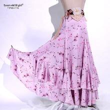 Spanish Dance Dress Flamenco Dance Practice Skirt Flamenco Skirt Dance Wear Women BU23