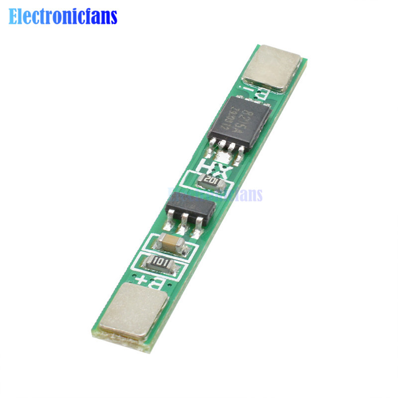 5X 3.7V Lithium Battery Protection Board Polymer 2.5A Overcharge Protect Module