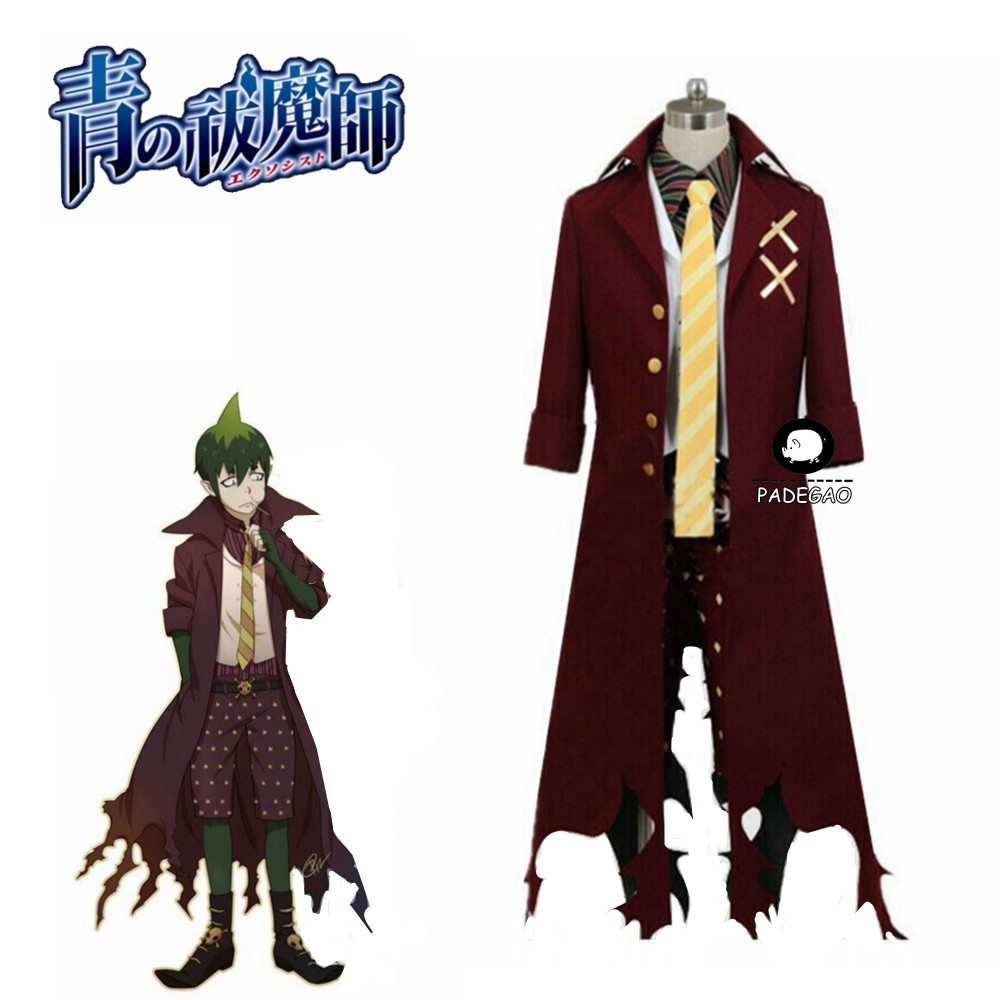 Ao No Blue Exorcist Amaimon Earth King Cosplay Costume Full Set