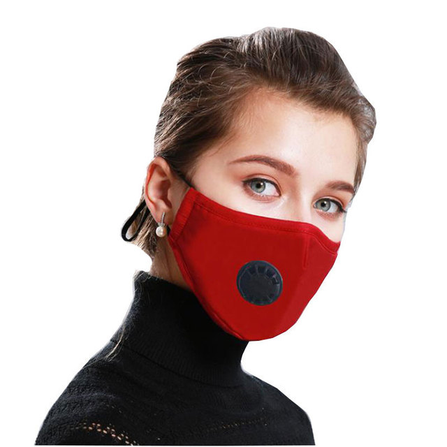 PM2.5 Anti Pollution Mask Air Filter Activated Carbon Fabric Mouth Face Mask Respirator Anti Haze Anti Allergy Flu Dust Mask 5