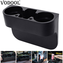 VODOOL Car Cup Holder Auto Seat Gap Water Cup Drink Bottle Can Phone Keys Organizer Storage Holder Stand Car Styling Accessories