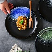 7 or 9 inch Ceramic Food Plate Steak Dinner Dinnerware