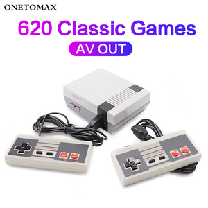 Image 2 - Mini TV Video Game Console Built in 620 Retro Games 8 Bit Console Handheld Game Console With Dual Gamepads Gaming Player