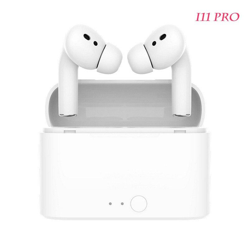 Pro i11 bluetooth earphone wireless earphone music earphone rename sports earphone for all smartphones ios pk pro3 i9s i12 tws