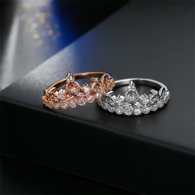 Luxurious Crown Ring 5