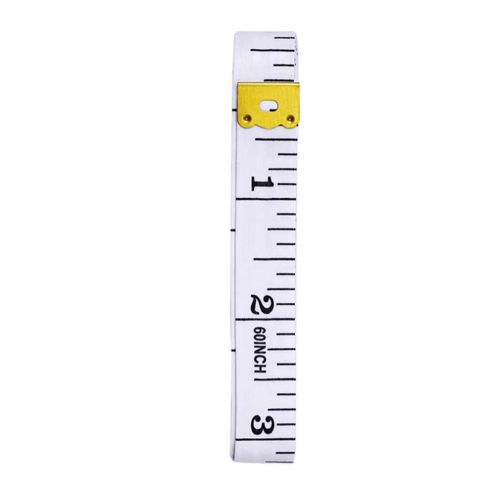 بوصة شريط القياس اللون البلاستيك أشرطة القياس طول المسطرة 1.5 متر