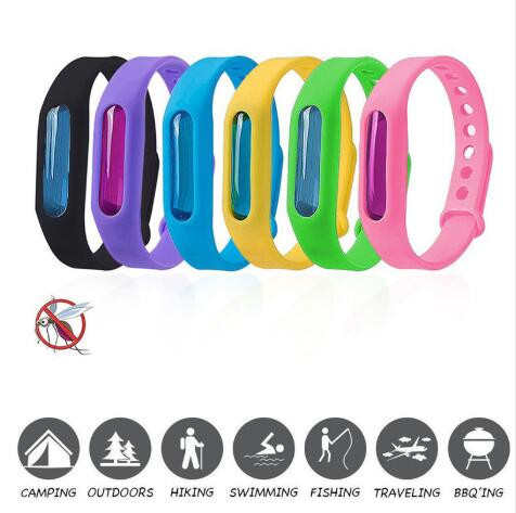 Repellent Wristband Dropship 1set Bracelet+Anti Mosquito Capsule Pest Insect Bugs Control Mosquito Kids Mosquito Killer