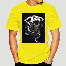 Человек в стиле «хип-хоп», бесконечную историю в Дракон Удачи фалкор футболка с круглым вырезом из натурального хлопка уникальный дизайн ...