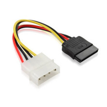 SATA IDE Power Adaptor Kabel Inti Tembaga D Tipe 4 Pin Serial Port Optical Hard Drive Kabel Listrik(China)
