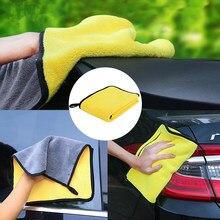 1 pièces Super absorbant lavage de voiture microfibre serviette voiture nettoyage séchage tissu Durable serviette voiture soin Automobiles entretien livraison directe