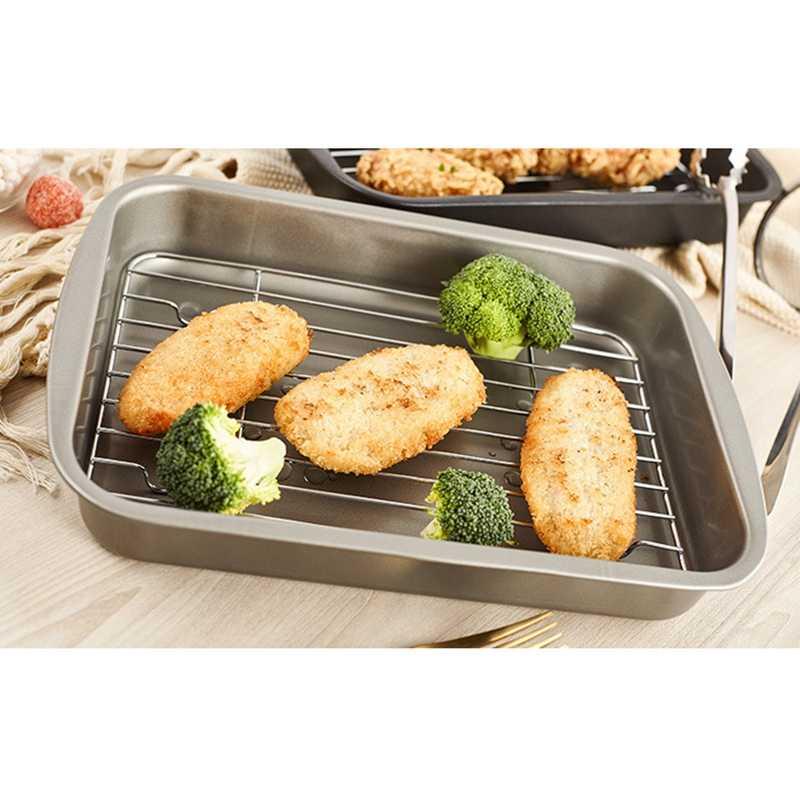 Cooling Rack Set Baking Pan Sheet Used