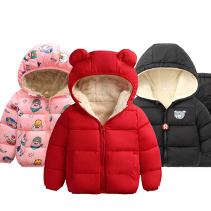 Baby Girls Jacket 2020 Autumn Winter Jacket For Girls Coat Kids Warm Hooded Outerwear Coat For Boys Jacket Coat Children Clothes(China)