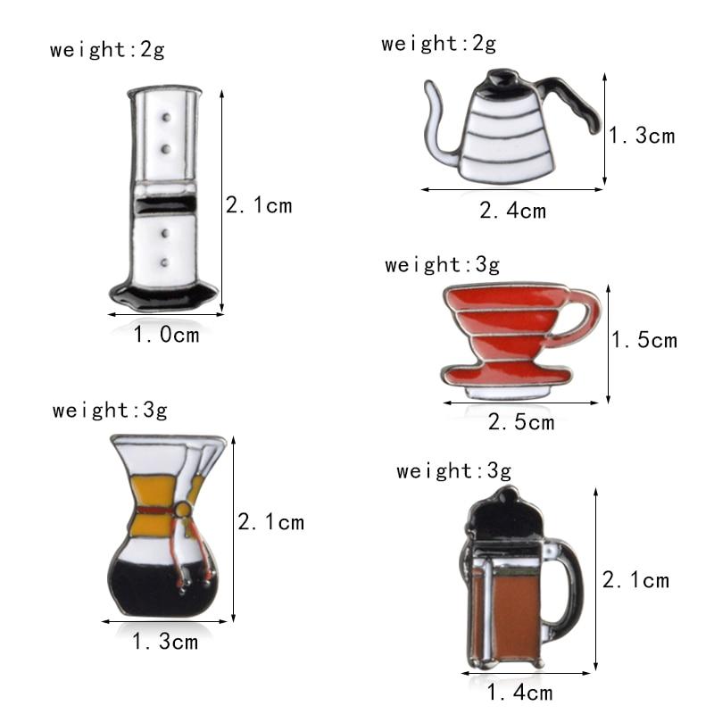 5pcs-set-American-coffee-Aero-Press-Chemex-Filter-cup-Brooch-Collar-Corsage-Shirt-bag-cap-Jacket