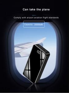 Image 3 - 20000 20000mah パワーバンク外部バッテリー 18650 PoverBank 2 USB LED Powerbank タイプ c ポータブル携帯電話の充電器 iPhone Xiaomi